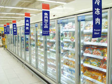 China Little Duck supermarket Dairy Products Display Refrigerator E7 ATLANTA/MIAMI with CE certification