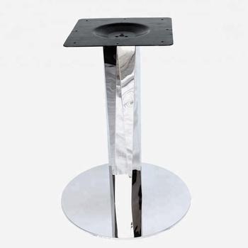 Furniture Accessories Metal Pedestal Shaped Column Stainless Steel