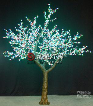 rgb led christmas decoration light tree