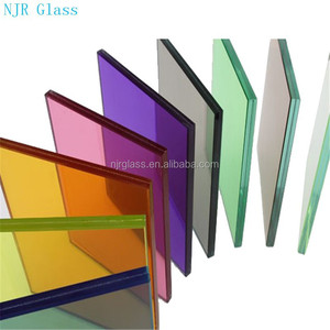 colorful tempered laminated glass price m2