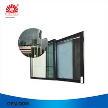 Fire Rated One Way 3 Panel Sliding Glass Door