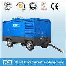 17m3/min portable diesel screw Air Compressor for sand blasting