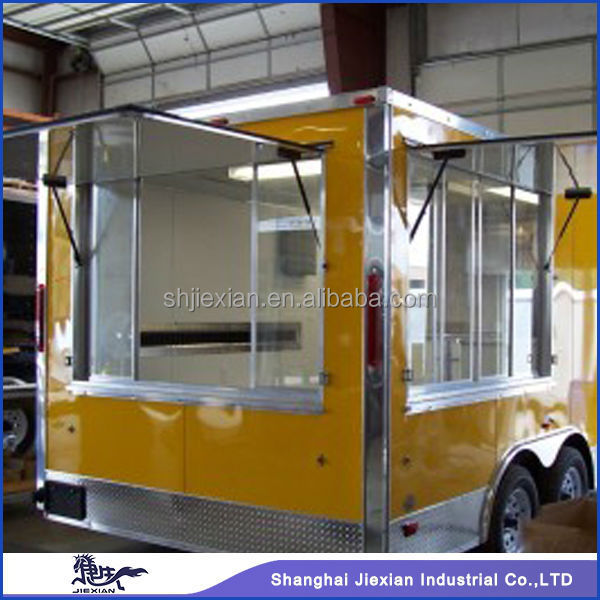 New Outdoor Food Kiosk mobile Kitchen Trailer For Sale Buy