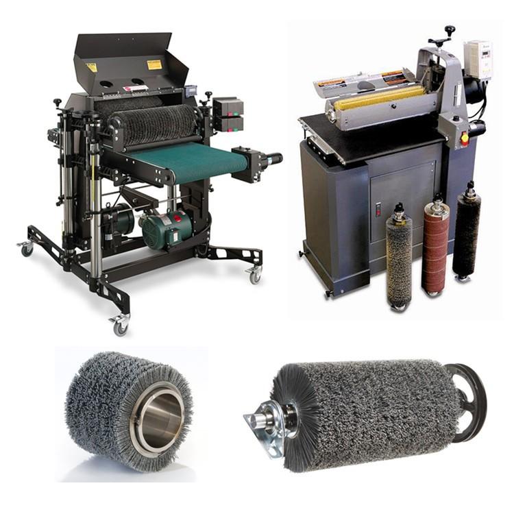 Industrial Polishing Machine Spiral Roller Brush Buy