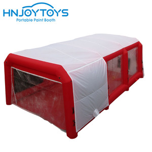 Car painting use workstation inflatable paint booth used portable spray booth for sale