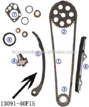 For Nissan Ka24e Sohc 12v 2 4l 89-93 Timing Chain Kits - Buy For Nissan  Ka24e Sohc 12v 2 4l 89-93 Timing Chain Kit,240sx Timing Chain Kit,Bluebird