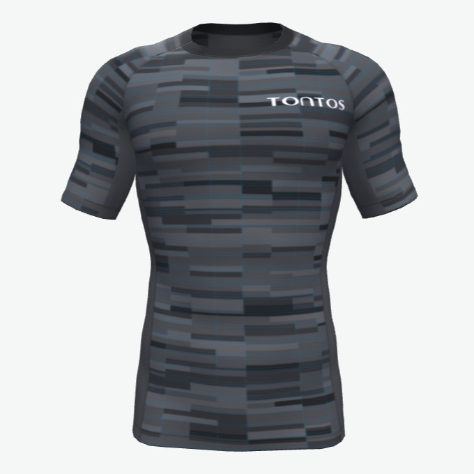 High Quality Custom Design Sublimated Sportswear Rash Guards
