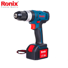 Ronix 2018 New Design Drill Cordless power tools Driver Drill water proof motor 18V model 8618N