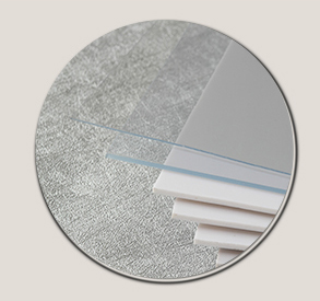 Dünne gute transparent 0,2mm kunststoff pvc blatt rollen