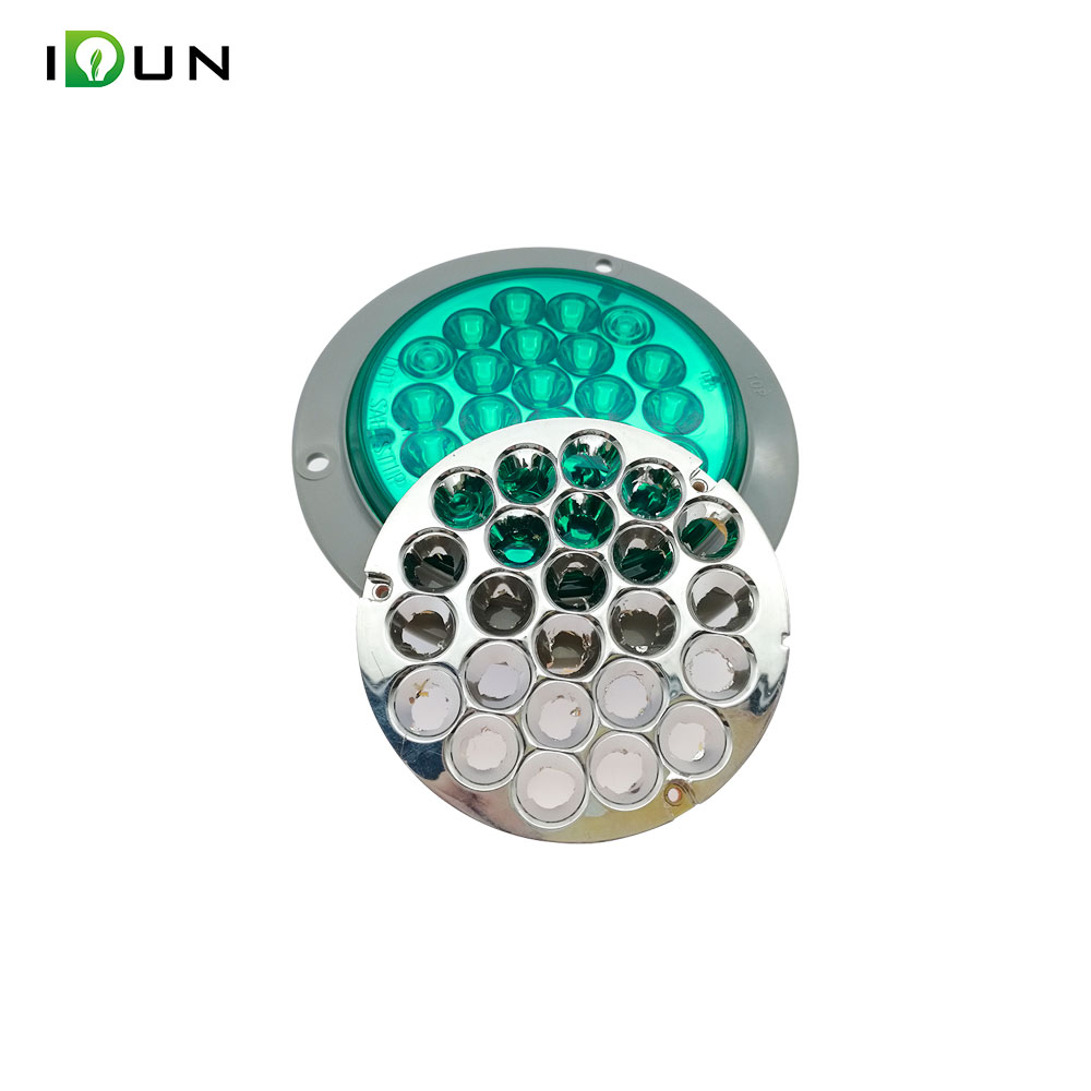 24V LED Side Marker Light Stop Turn Signal Tail Lights Lamp For Trucks Cars Trailers Lorry Tractors