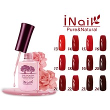 Free shipping Red Wine Series 6pcs Inail Gel Nail Polish 15ml 12 colors for choice