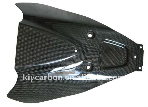 Carbon fiber under tail parts for Suzuki