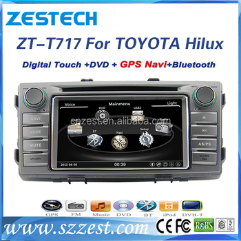 7 2din Car Radio Shack Gps Tracker For Toyota Hilux