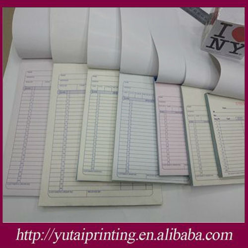 carbonless customizable ncr templates receipt book and invoice book