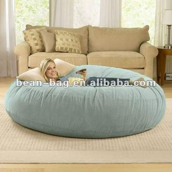 Giant Foam Filled Beanbag Sofa Bed