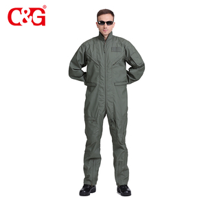 7dfe67ed808e Eco-Friendly military nomex flight coverall pilot uniform fr jacket