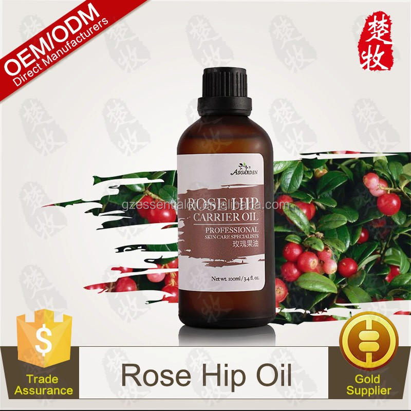Pure Rosehip Oil 100% Natural Carrier Oil 120ml Bottle Free Sample Welcome