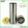 Newest copper hades mechanical mod cigreen 26650 hades mod
