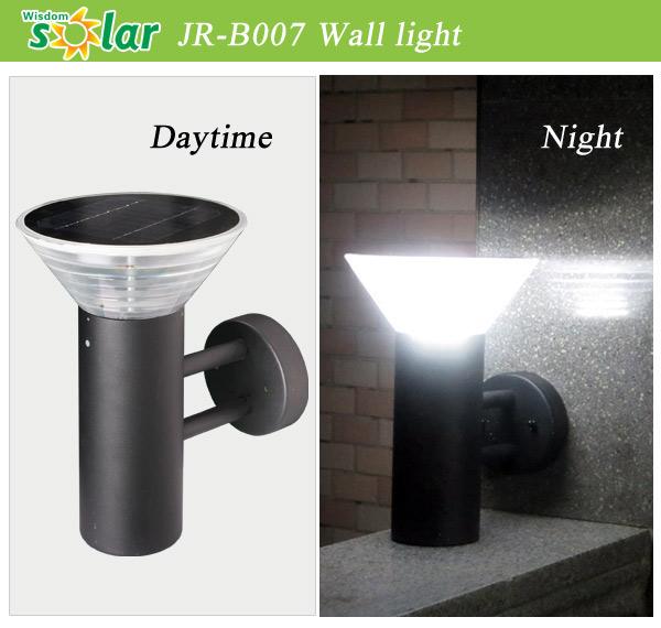 China Supplier Solar Wall Light ,wall Mounted Outdoor Solar Lights(JR B007)
