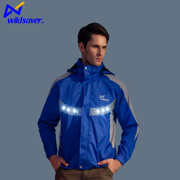 china LED flashing motorcycle racing jacket