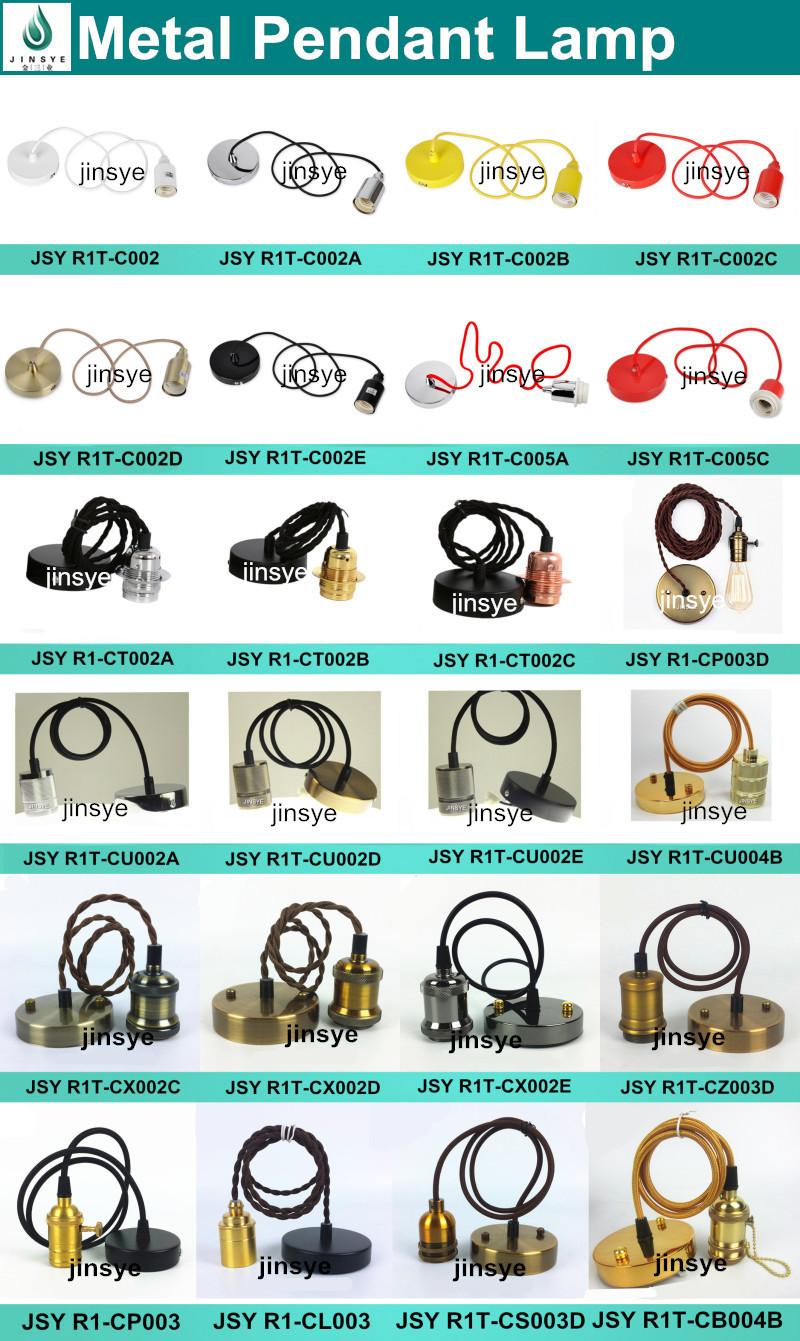 Light Pendant Shade Ring Threaded Lamp Holder Types Bulb Socket ...