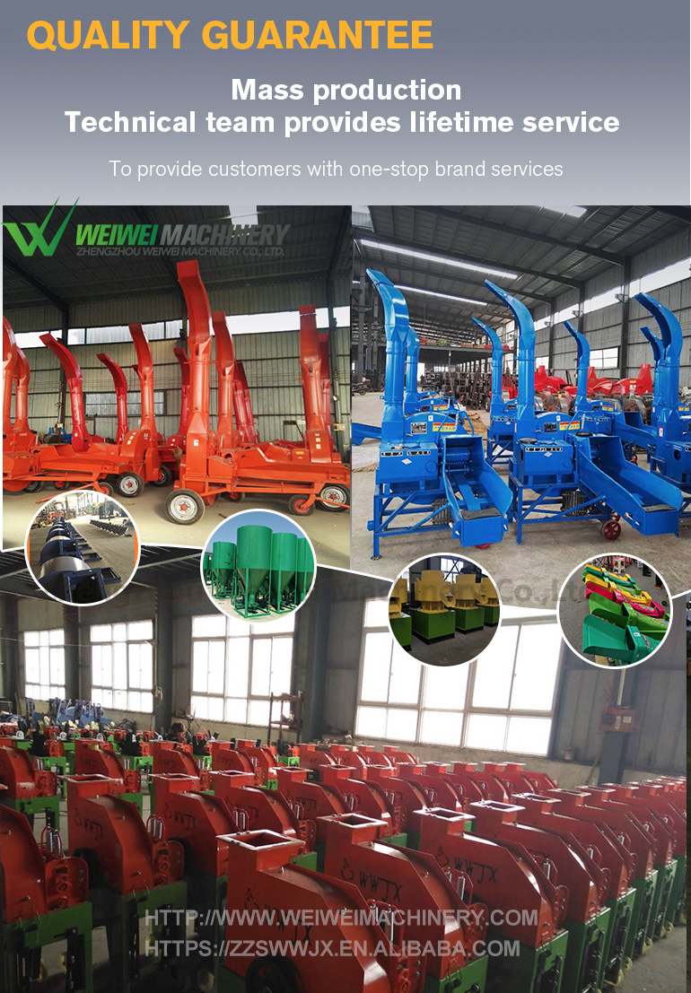 Weiwei rice milling machine importer cutting suppliers professionally manufactured grass chopper