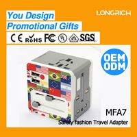 Christmas Promotionexhibition souvenir gifts,Christmas Giftplug and socket with surge protection