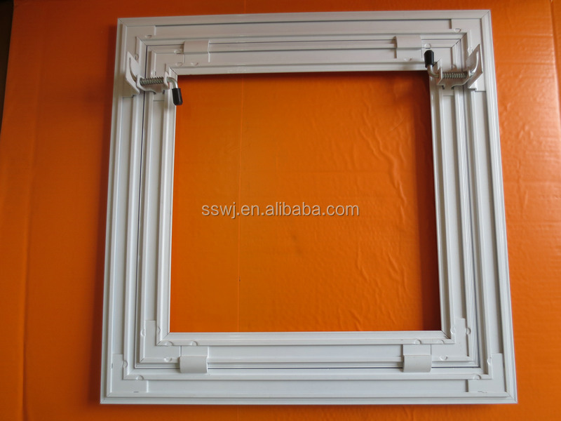 Security Gypsum Board : False ceiling tile access panel hatch with gypsum