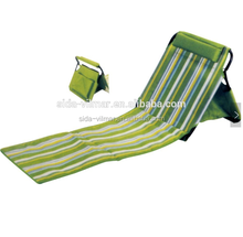 outdoor leisure travel portable folding beach sun bed for outdoor activities