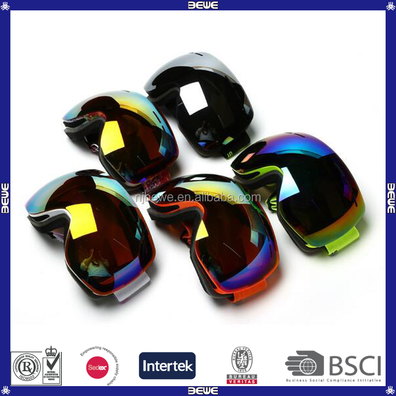 OEM Colorful Interchangeable Lens Snow Goggles