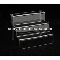 3 Tier Acrylic Display Stand/3 Step Display Rack/ Display Riser ...