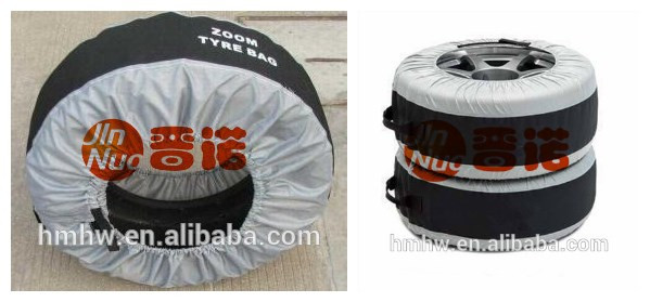 Yedek lastik kapağı ile su geçirmez UV koruma toz geçirmez tekerlek saklama çantası