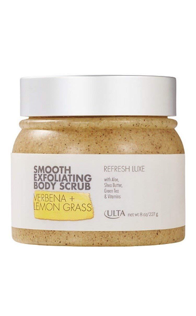 Ulta Smooth Luxe Exfoliating Body Scrub ~ 8 oz ~ Verbena + Lemon Grass