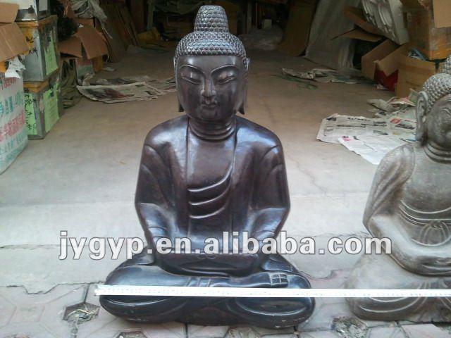 budda jade pierre budda statut d coration jardin statues. Black Bedroom Furniture Sets. Home Design Ideas