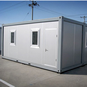 6058*2438*2591mm 20ft flatpacking container house for office dormitory ablution units