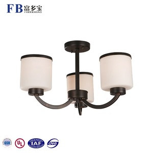 The Newest 3 Lights Living Room Modern Simple Pendant Light Chandelier Fixtures