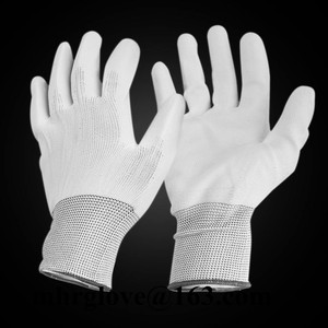 Brand MHR PU coated cut resistant level 3 sheet metal assembly glove