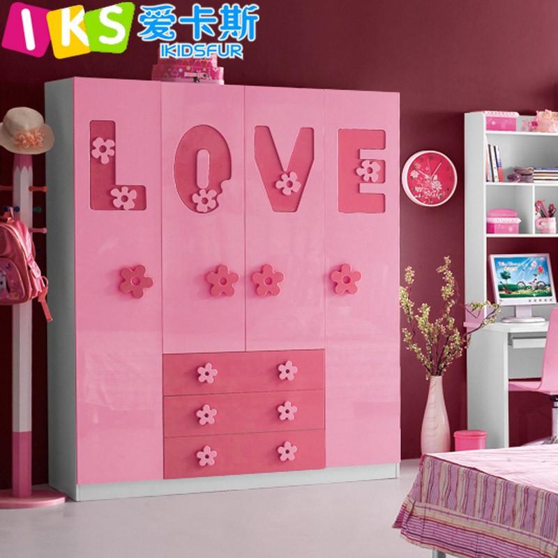 Dulce muebles de color rosa para las ni as beb 8105 - Muebles para ninos online ...