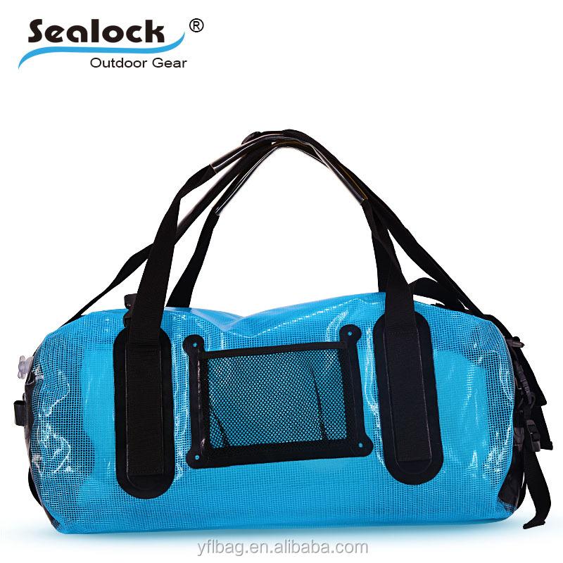 25 35 Liter Small To Large Waterproof Duffel Bag Duffle Bags For Kayaking Transpa Color Dry Travel Fish