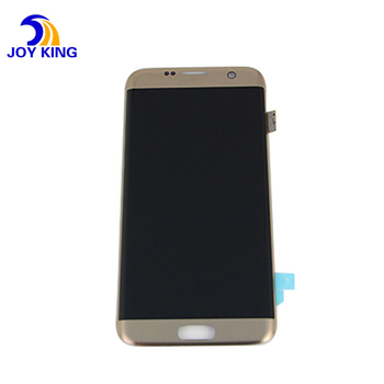 Wholesale 100% tested LCD display for Samsung Galaxy S7 edge LCD with frame G935F G935FD G935W8 LCD touch screen Digitizer