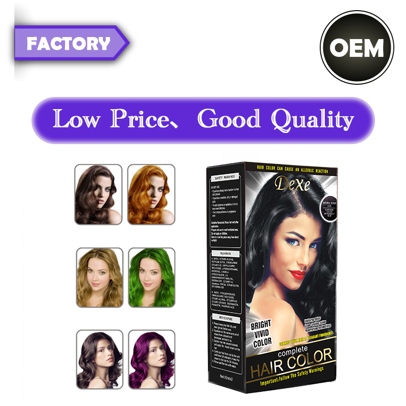 Factory hot sale ice cream <strong>hair</strong> <strong>color</strong> with wholesale price