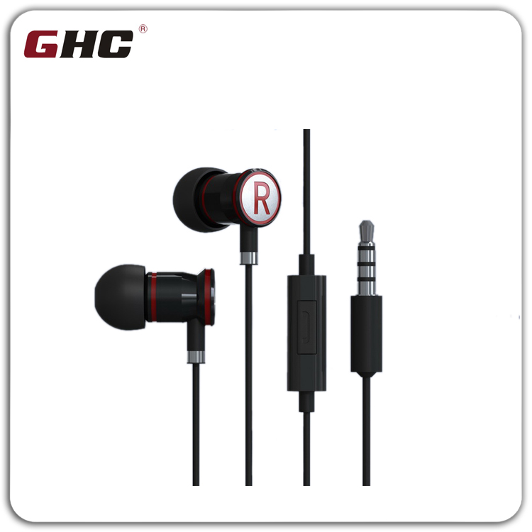 High Quality Two Colors Earphone Replacement Ear Cushion metal earphone with 18 months warranty