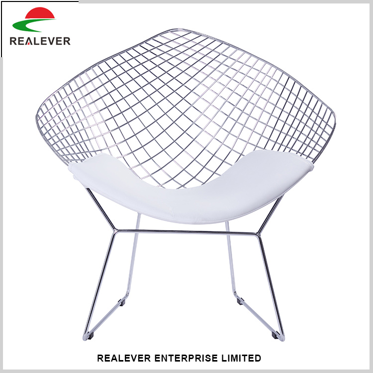New style fashionabl industrial net metal chair