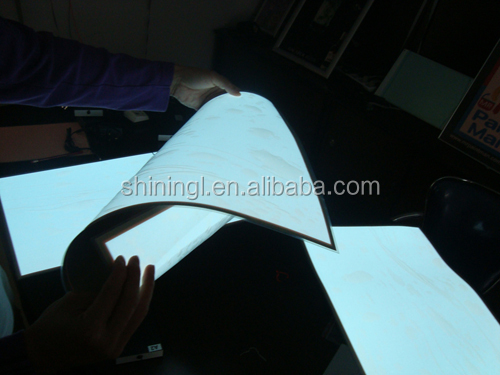 Flexible ,electroluminescence, e-ink printing long life animation el advertisement/poster/billboard