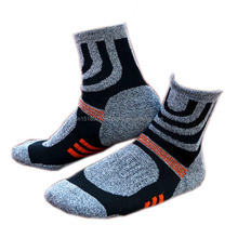 Custom Print Wool Sock, Happy Women Dress Socks, Plain Man Sport Sock