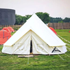Hot Sale 100% Cotton 3m outdoor canvas bell tent for family camping