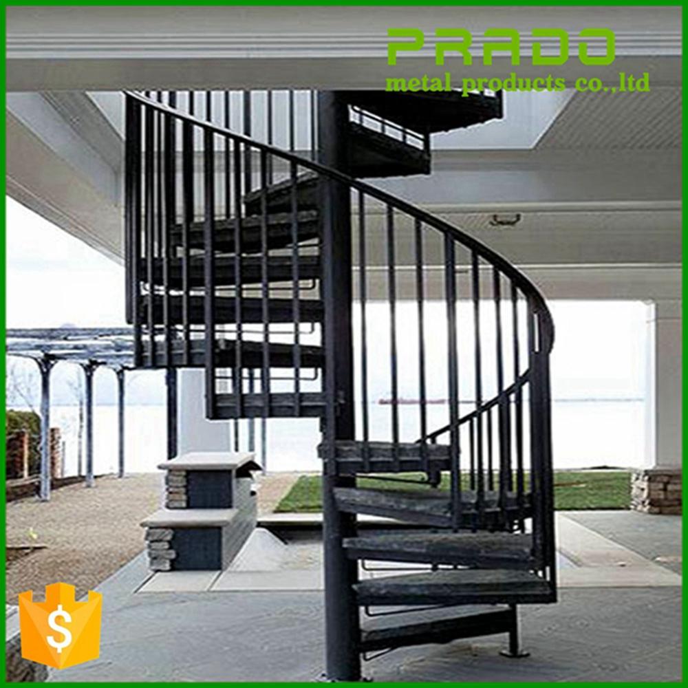Escalera De Caracol De Hierro Forjado Al Aire Libre Precios  ~ Precios De Escaleras De Caracol
