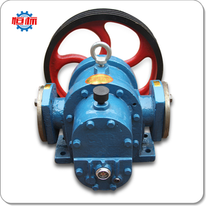 Belt Driven chemical circulation thickened liquid roots oil rotary gear pump