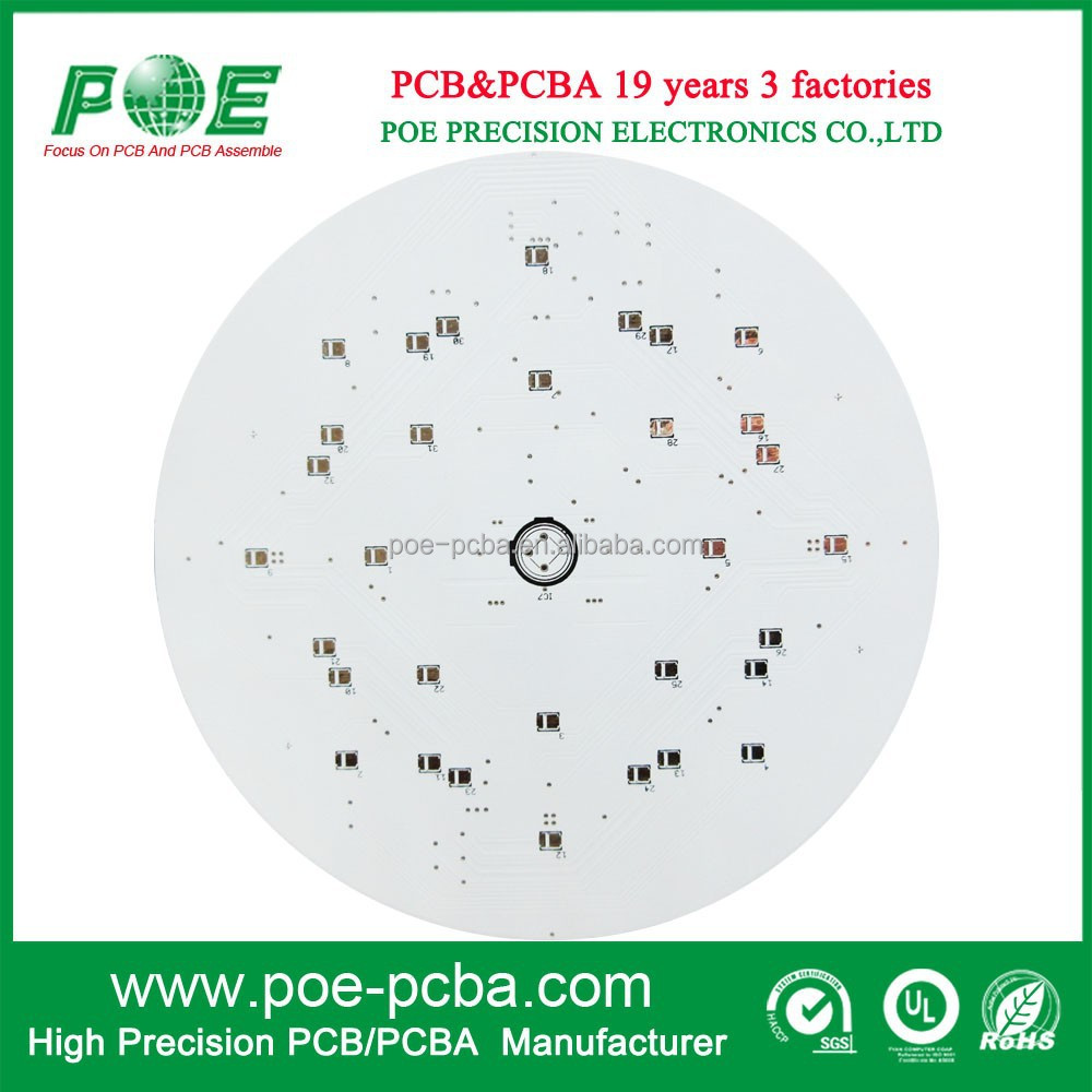 High Power LED Printed Circuit Boards, SMD LED PCB Board