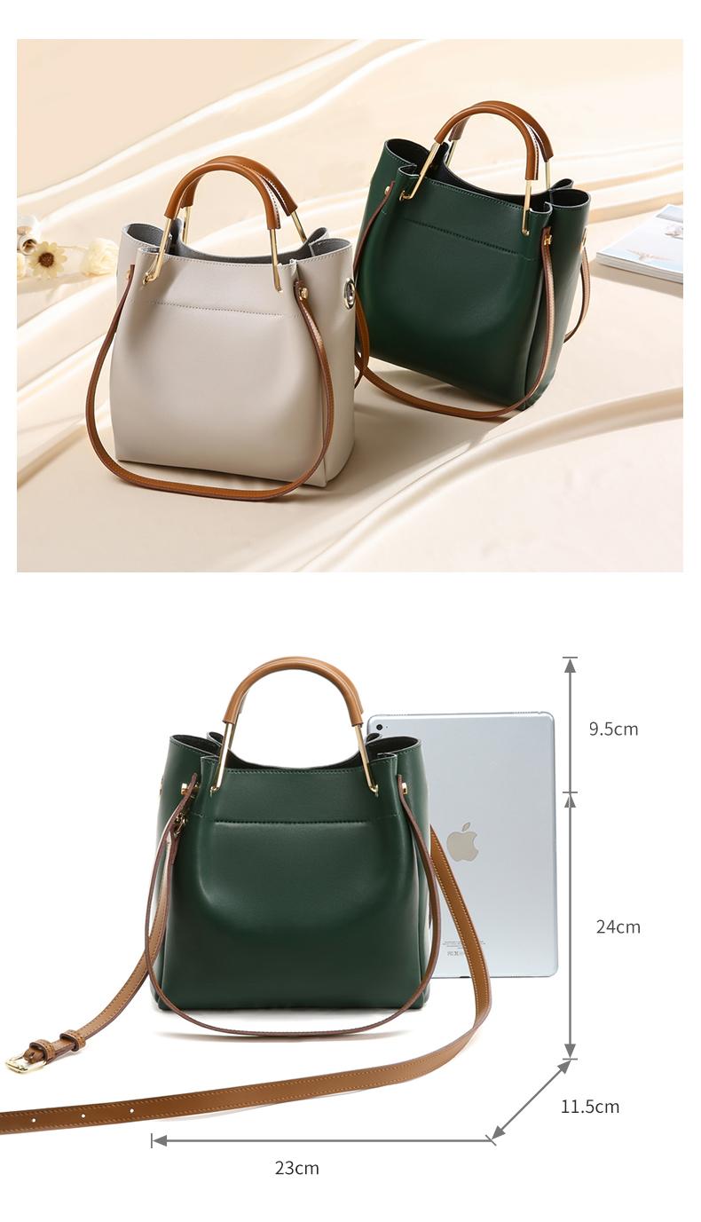 New Design Crossbody large Capacity Ladies Leather Hobo Bag For Female